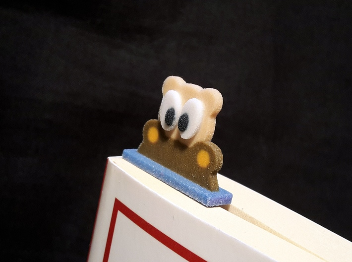 bookmark - S48 - interested! 3d printed
