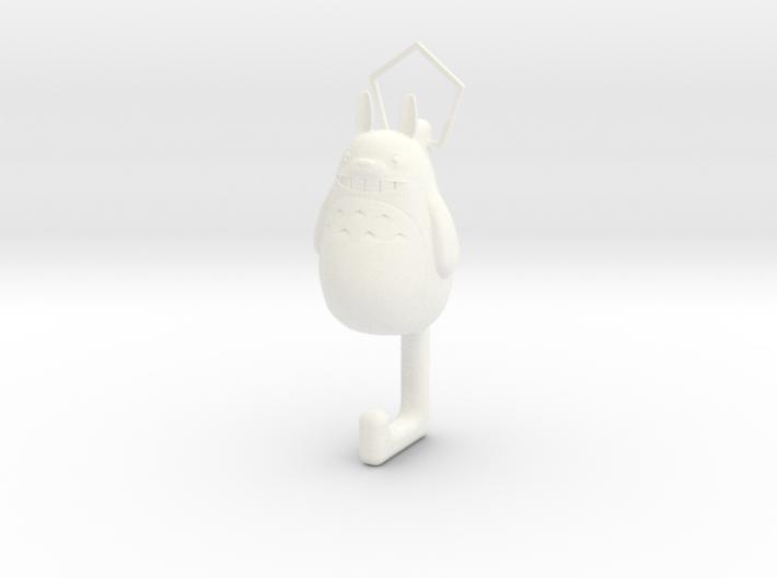 Totoro hook 3d printed