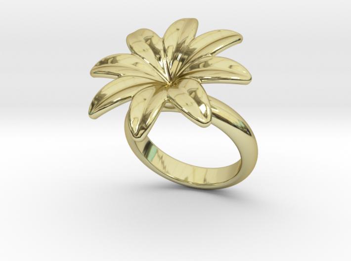 Flowerfantasy Ring 30 - Italian Size 30 3d printed