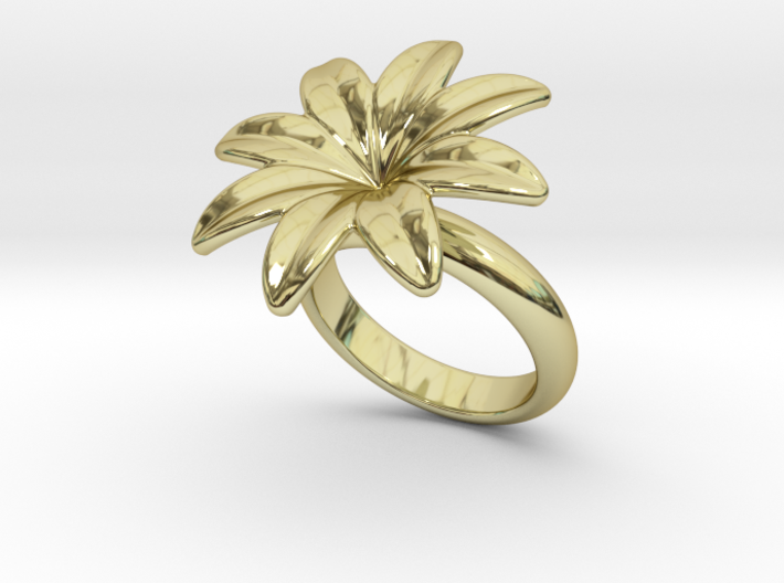 Flowerfantasy Ring 32 - Italian Size 32 3d printed