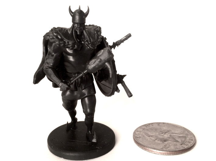 Viking Knight (table top edition) 3d printed