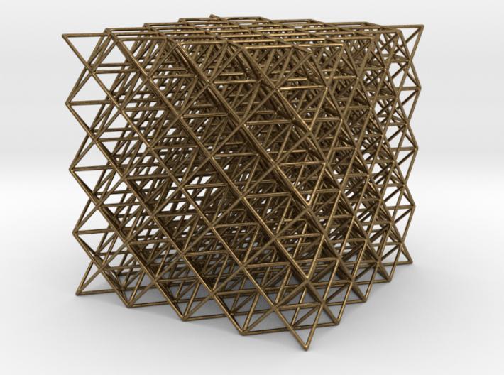 512 Tetrahedrons 3d printed