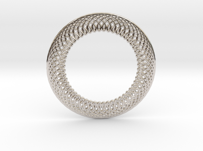 0566 Double Rotation Of Point (6 cm) #001 3d printed