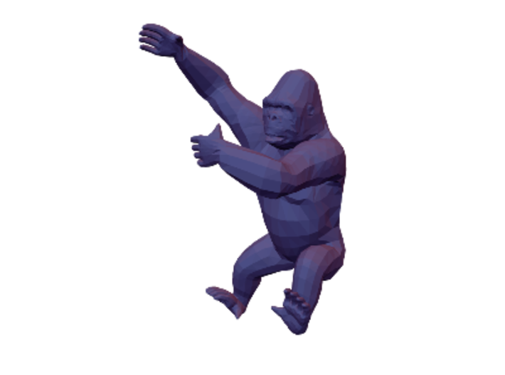 King Kong 3d printed