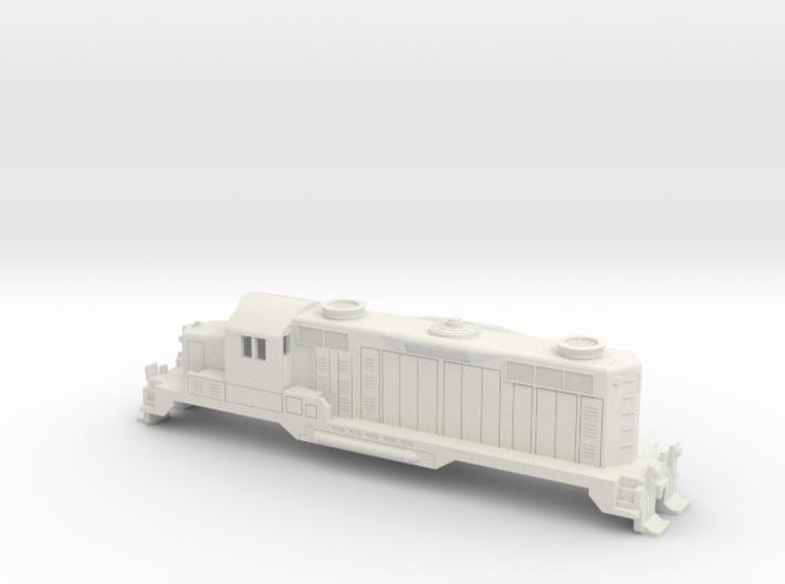 GP20 Locomotive in N Scale 3d printed