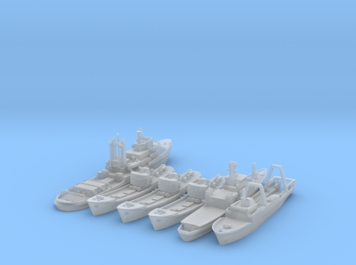 Cod War Set 1 - 1/1250 3d printed