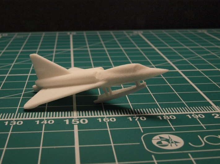 Convair F2Y 6mm 1/285 (With ski extended) 3d printed