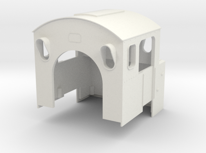 BR80 Driver's Cab #1 3d printed