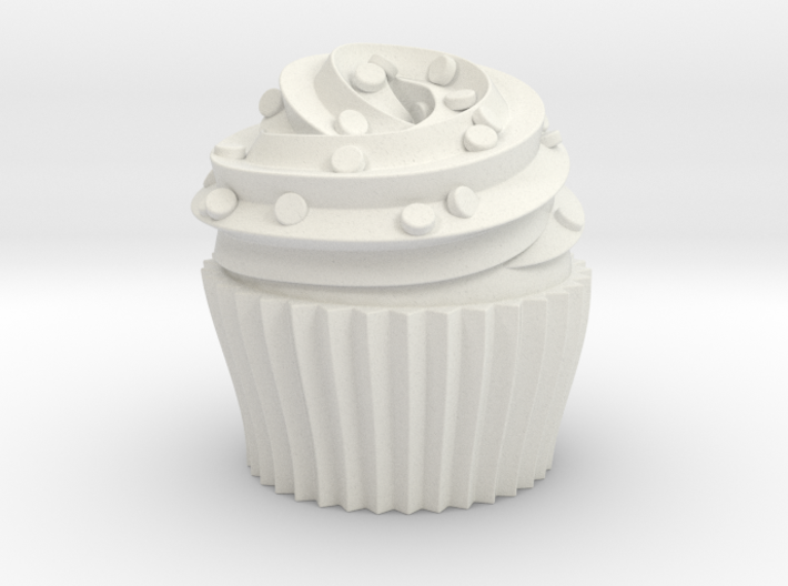 Cupcake Swirl Party Favor 3d printed
