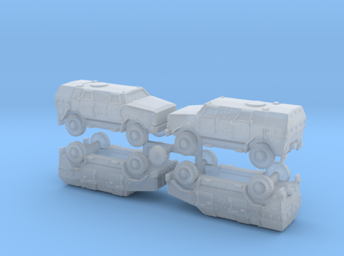 German ATF Dingo II Armored Car 1/285 6mm 3d printed