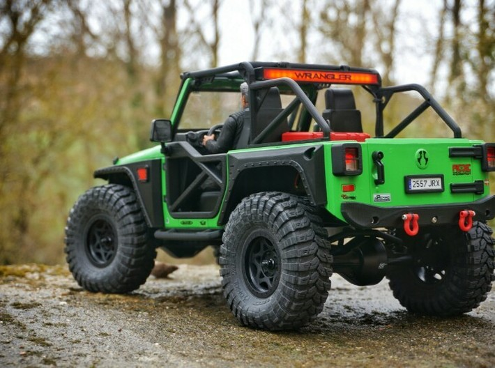 1/10 Scale Jeep door  (Right side) 3d printed