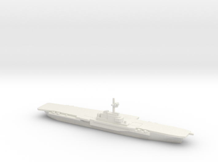 FS Clemenceau (R98) (1961), 1/3000 3d printed