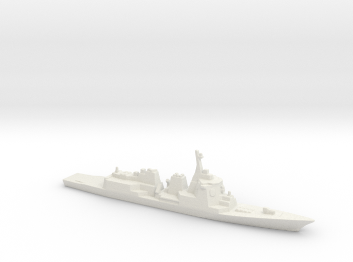 Atago-class Destroyer, 1/3000 3d printed