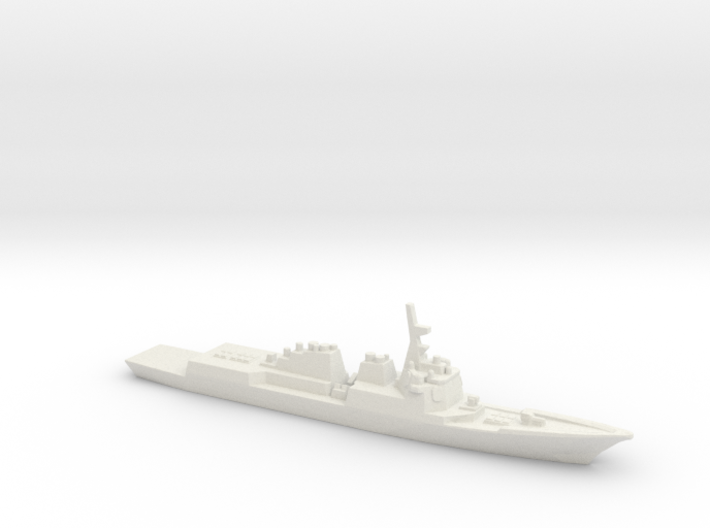 Sejong the Great-class destroyer, 1/3000 3d printed