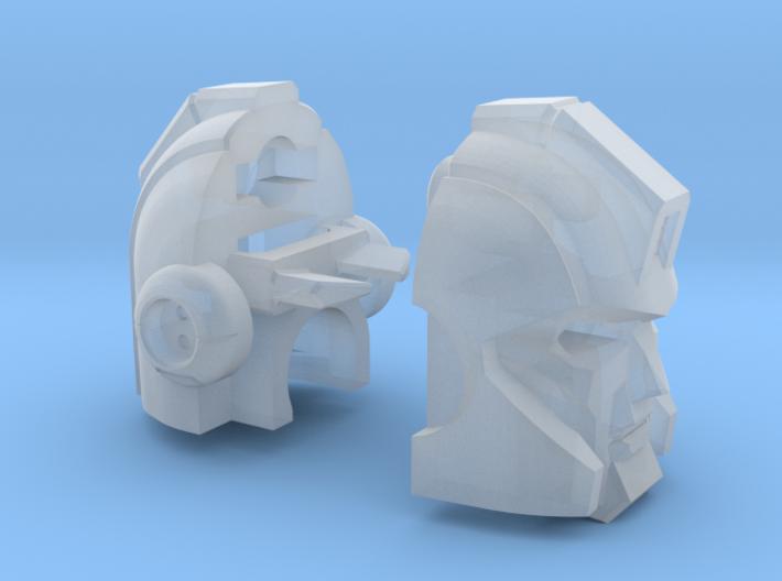 """Armored Bodyguard Head """"AHM"""" 3d printed"""