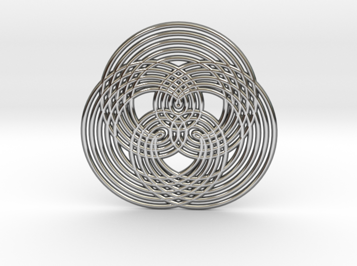 0573 Triple Rotation Of Points (5 cm) #005 3d printed