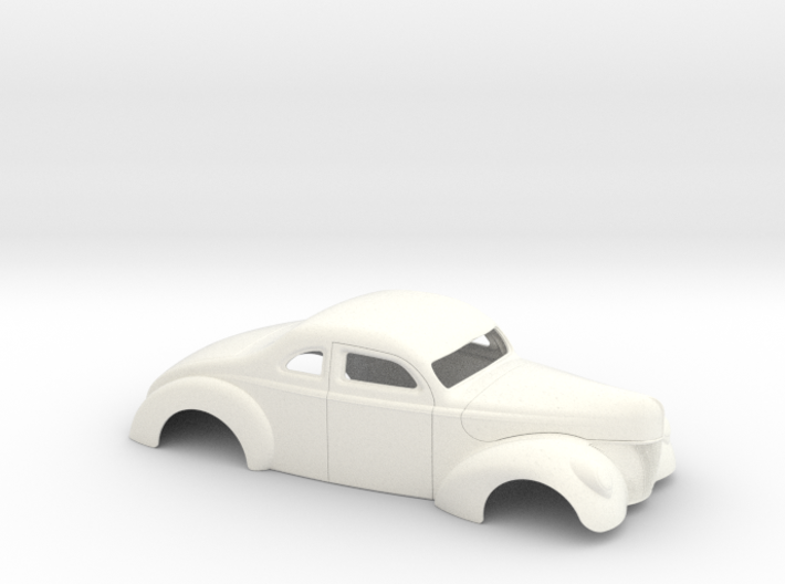 1/25 1940 Ford Coupe 3 In Chop 4 In Section 3d printed