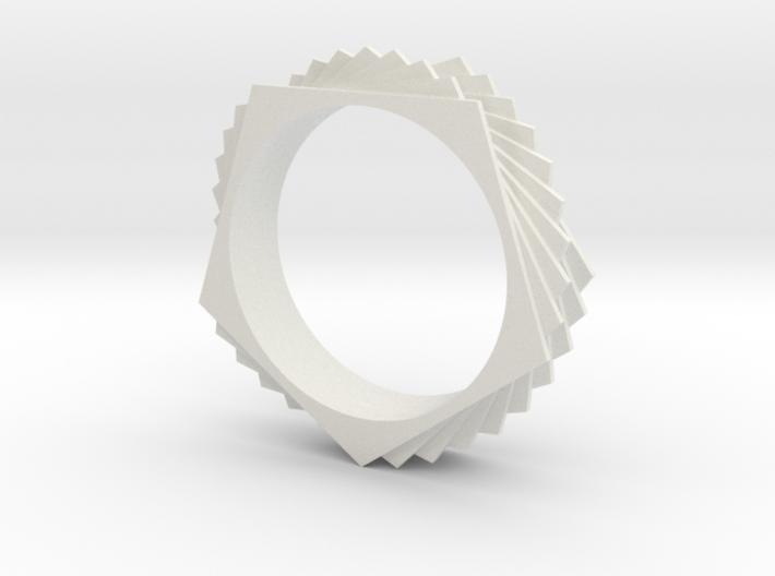 Bracelet Pentagon Twist 3d printed