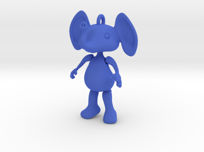 Dangly Elephant 3d printed