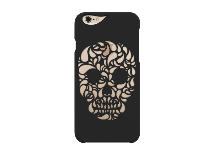 iPhone 6S_Funky Skull 3d printed iPhone 6 Case_Funky Skull