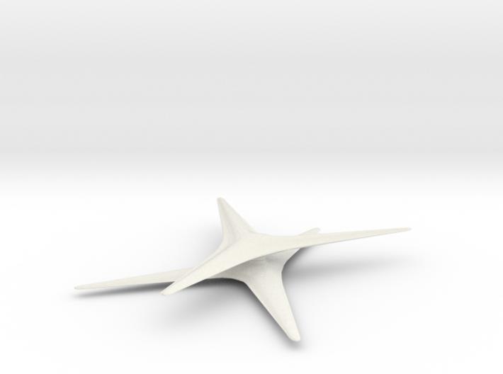 Cylon Basestar 3d printed