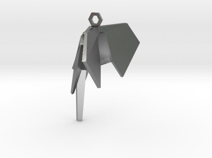 Origamix Pendant Elephant 3d printed