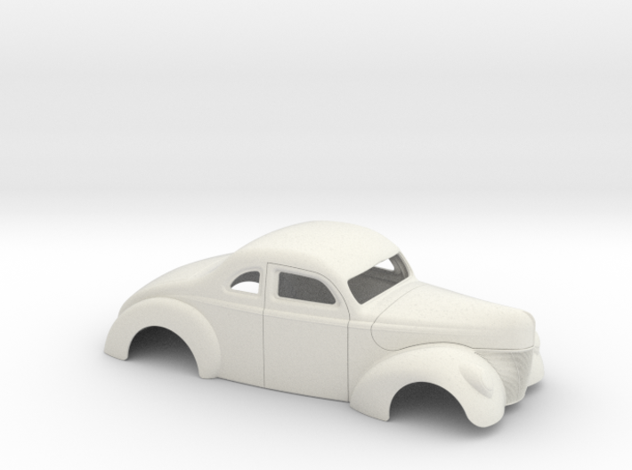 1/8 1940 Ford Coupe 2 Inch Chop 3d printed