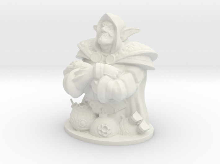 Dr.Boom from HearthStone 3d printed
