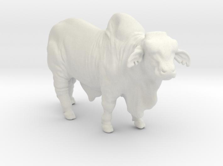 Brahma Bull 3d printed