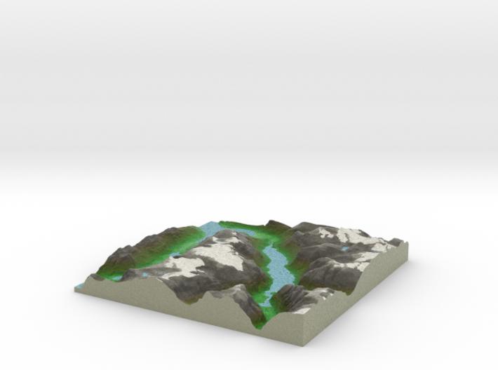 Terrafab generated model Sun May 15 2016 23:01:46 3d printed