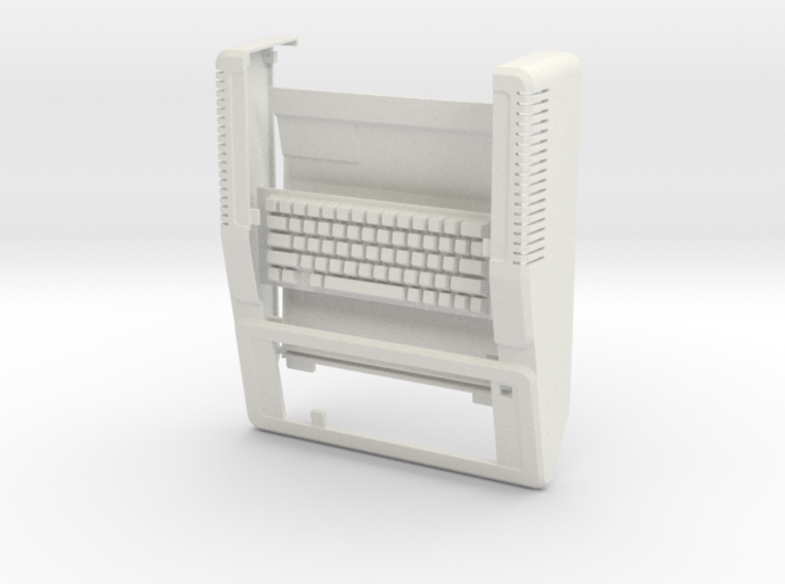 Apple IIe Raspberry Pi Enclosure SHELL 3d printed