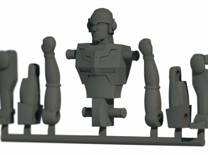 Jack 3d printed CG Render