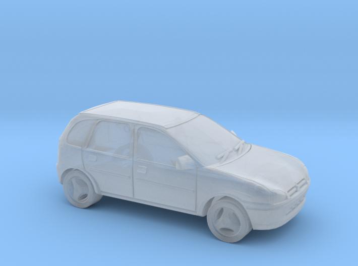 Vauxhall Corsa - 1/148 (British N) 3d printed