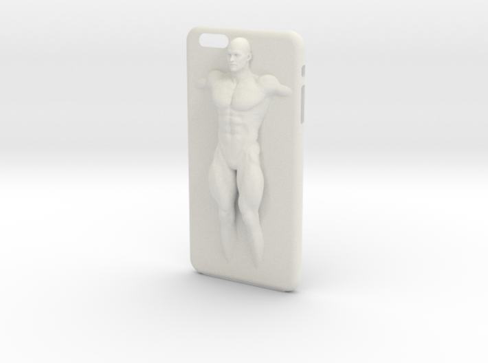 IPhone6 Plus Case Strong Man 001 3d printed