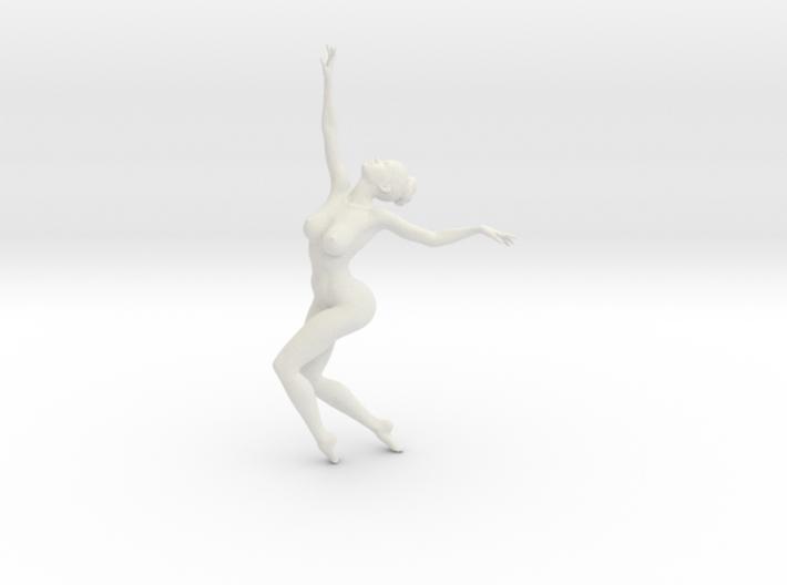 1/18 Nude Dancers 007 3d printed