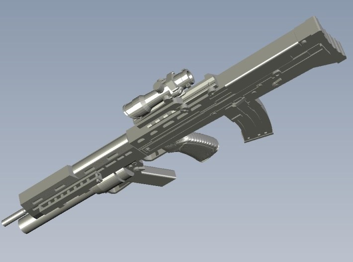 1/15 scale BAE Systems L-85A2 rifles x 5 3d printed