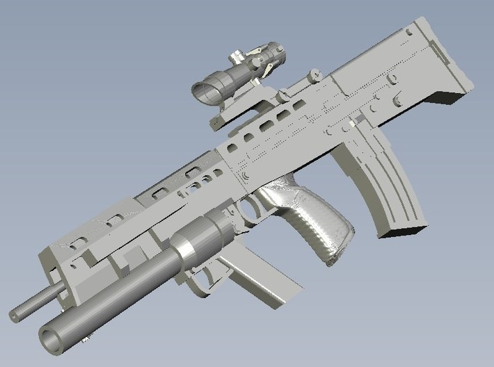 1/18 scale BAE Systems L-85A2 rifles x 10 3d printed