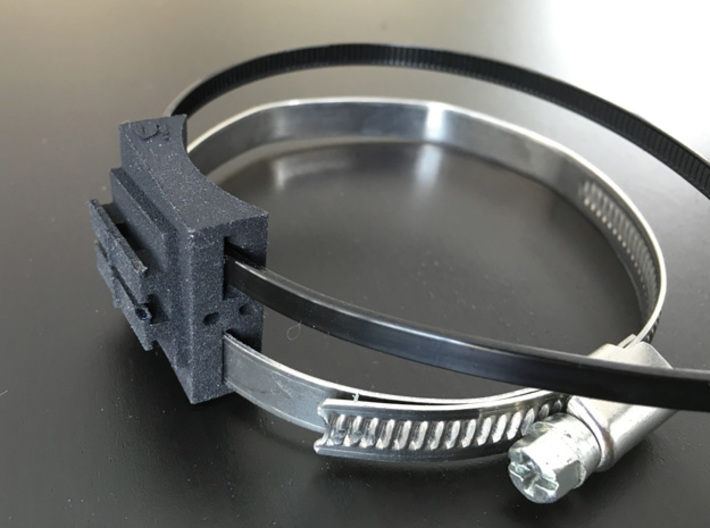 Bar Mount Contour Camera 52mm 3d printed clamp & cable tie not included =)