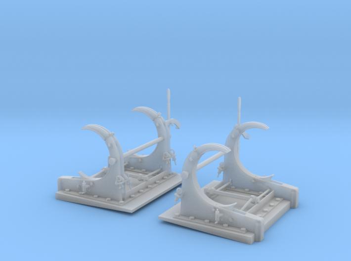 1/20 PT Torpedo Rack TypD 3d printed