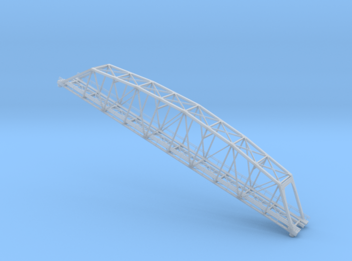 Truss Bridge Z Scale 3d printed 219 ft truss bridge Z scale