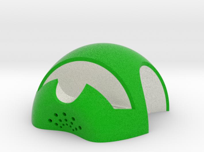 iPhone 6S/6S Plus Dock-Green 3d printed Shapeways Render - Full Color Sandstone
