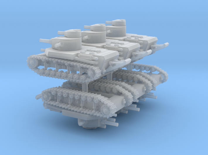 T24 Medium (6mm, 6-up) 3d printed