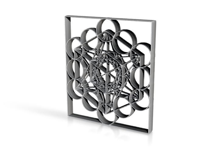 Meta Cuba 3d printed Metatronic Cubic Transducer