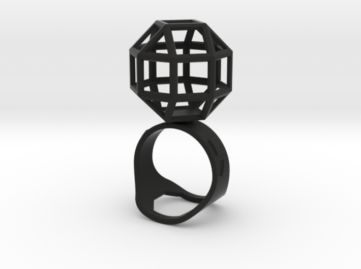 The Ring of the Rhombicuboctahedro 3d printed