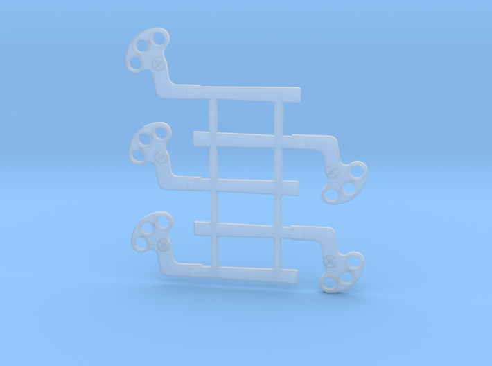 "HO Scale GRS B Semaphore Square 60"" 3d printed"