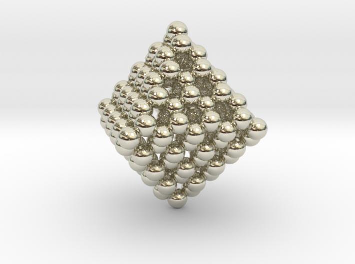 Diamond Octahedron Cage C130 3d printed