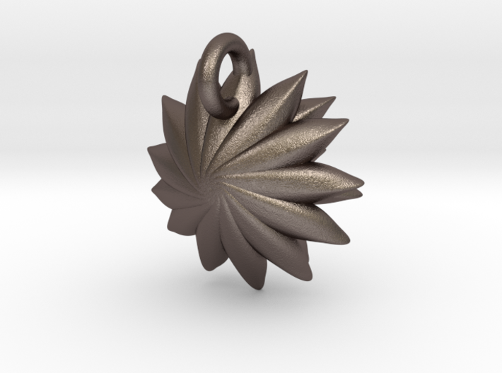 Spikey Succulent Pendant 3d printed