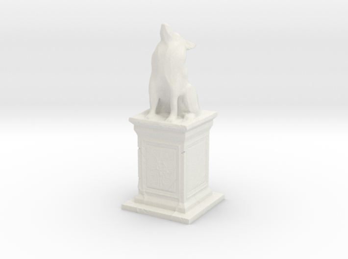Wolf Statue 3d printed