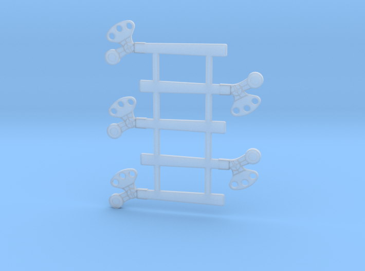 """HO Scale SP TO Square 60"""" 3d printed"""