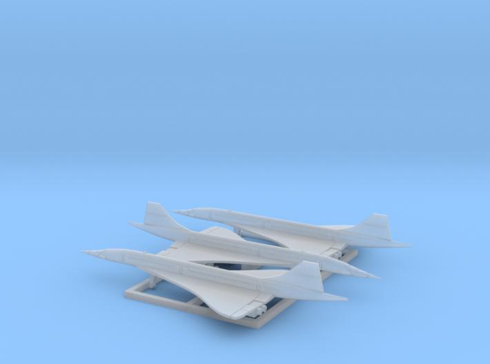 Concorde (1:1250) 3d printed